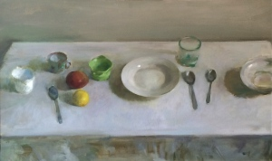 tablesetting with fruit